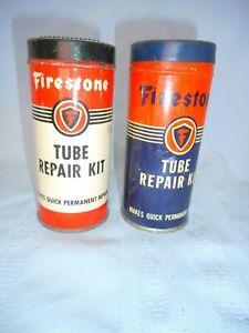 TWO OLD Firestone Tube Repair Kits