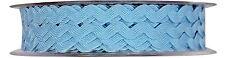 6mm Ric RAC Braid Trimming - 20m Reel Choice of Colours Pale Blue