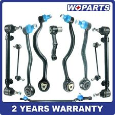 Control Arm Ball Joint Center Tie Rod Sway Bar Kit 10 fit for BMW E32 740i 740iL