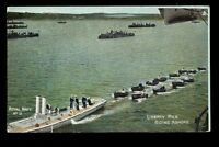 NAVY British No 12 Liberty men going ashore PPC