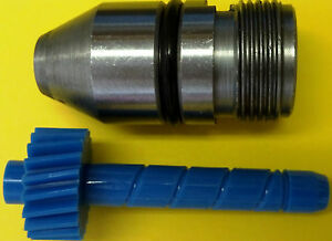 20 tooth TH350 Chevy Muncie Saginaw Speedometer gear blue plus bullet housing