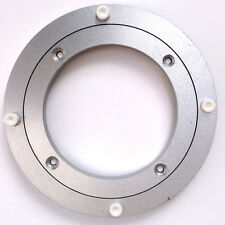 "5.5"" INCH 140MM LAZY SUSAN ROTATING ALUMINIUM TURNTABLE BEARING ROUND - UK"