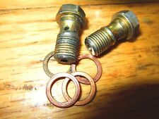 DUCATI OEM brake & clutch  BANJO BOLTS  748-998 749/999 MONSTER SS ST