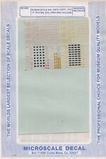 60-462 Roman Style R.R. DATA CAPY ACI 'C' Plates Etc (Red and Yellow)