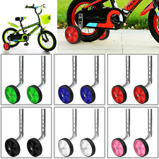 New Kids Boy Girl 12-20 Inch Universal Bicycle Stabilisers Cycle Training Wheels