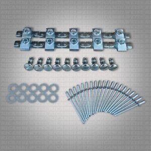 10x NDZ3 Set Schlitz Schnellverschluss Nieten Motorrad Verkleidung DZUS