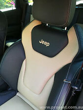 JEEP GRAND CHEROKEE GTS STYLE SEAT CONVERSION GENUINE ITALIAN LEATHER WK2
