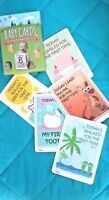 30 BABY MEMORABLE MOMENTS CAPTURE CARDS NEW BABY SHOWER GIFT NEW IN A BOX