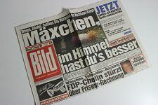 BILDzeitung 02.02.1994 Februar 2.2.1994 Geschenk 27. 28. 29. 30. Geburtstag