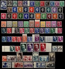 L'ANNÉE 1945 Complète, Neufs * = Cote 48 € / Lot Timbres de France