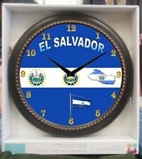EL Salvador Clock Wall Clock Size 12 X12 New
