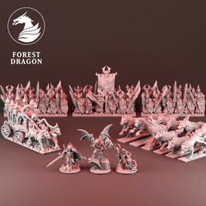 Vampire Counts army 10mm Detailed Miniatures oldhammer warmaster kings of war