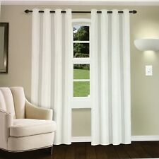 Superior Linen Textured Blackout Curtain Set Of 2 With Groomer Top Header