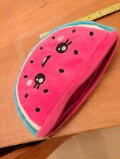 Smiggle Watermelon Soft Pencil Case Bag Pink And Green