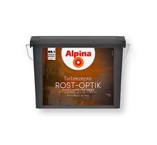 Alpina Farbrezepte Set 10m² Rostoptik Farbe Wandfarbe Effekt  Rost Optik 32,4€/L