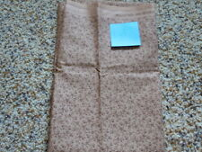 1 YD Quilt Sewing Fabric Light Brown Background darker design Classic Cottons