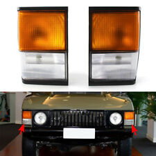 Pair for Range Rover Classic Indicator Side Corner Light Front Square PRC8950/49