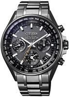 CITIZEN ATTESA CC4004-58E Eco-Drive GPS Double Direct Flight Men's Watch New
