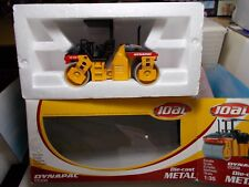 JOAL DIECAST ROLLER DYNAPAC 1:35 BOXED .VERY GOOD CONDITION