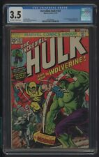 INCREDIBLE HULK 181 CGC 3.5 11/74 1ST FULL APPEARANCE OF WOLVERINE L. WEIN STORY