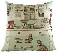 Sally Swannell Mos Cafe Beach Seaside Evans Lichfield Filled Cushion 43cm