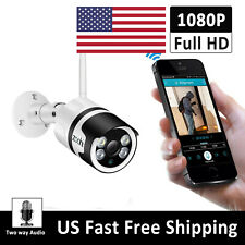 ANRAN 1080P Home Security Camera System Wireless 2Way Audio Outdoor US WiFi Talk
