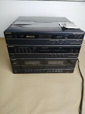 Sharp Stereo Music System Sg F800 Turntable Cassette Double Deck (Parts Only )