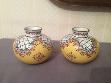 Paire de vases boule,A.Renoleau,A . XX°.