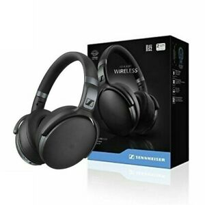 Wireless Bluetooth HD 4.40 BT Sennheiser Over Ear Professional Headphones Black