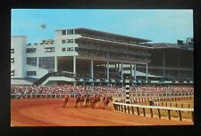 1960s? The Clubhouse Turn Monmouth Park The Resort of Racing Horse Oceanport Nj