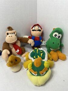 Nintendo Super Mario Plush Lot