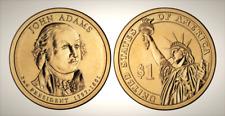 2007 P John Adams Presidential Series Dollar UNC MS Brilliant Uncirculated!!