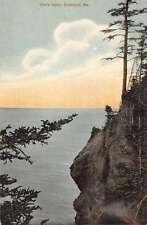 Rockland Maine Owls Head Birdseye View Antique Postcard K71119