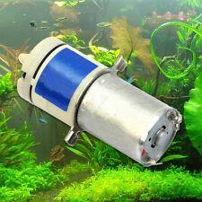 Small Mini Mute 370 Motor Air Pump Oxygen Pump For Aquarium Fish Tank DC 3V~12V