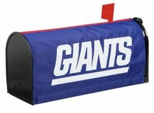 New York Giants Magnetic Hold Applique Mailbox Cover