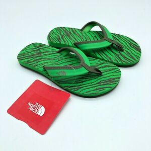 The North Face Toddler Boys Flip Flop Sandals Base Camp Mini Green Size 11