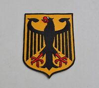 Bundeswappen Aufnäher BRD Aufbügler Bundesrepublik Deutschland Wappentier Adler