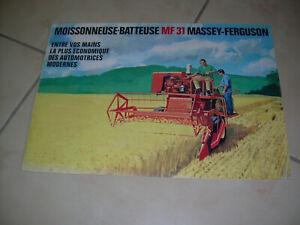 MASSEY FERGUSON MOISSONNEUSE BATTEUSE MF 31
