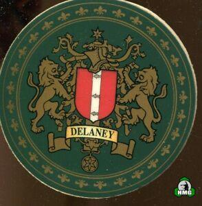 English Heraldic Coaster: Delaney