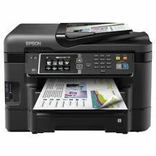 NEW Epson Workforce Printer WF-3640 Wireless Colour Inkjet Multifunction