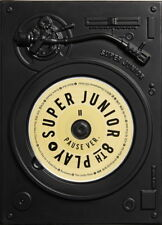 SUPER JUNIOR - PLAY [PAUSE ver.] (Vol.8) CD+Booklet+2 Letter Fans Tracking No.