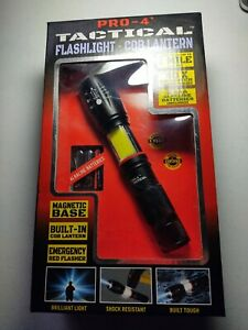 Pro-4 tactical Flashlight-Cob Lanten emergency use for car or home $ 5.99 bid!!!