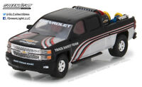 Greenlight 1:64 2015 Chevy Silverado in Black with Safety Equipment Hobby Only