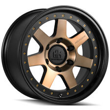 "4-Mayhem 8300 Prodigy 17x9 6x5.5"" -6mm Bronze/Black Wheels Rims 17"" Inch"