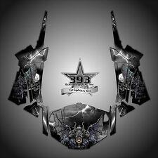 Polaris RZR 1000 XP Wrap Graphics Decal W OEM Door Inserts 13-15 Guardian Black