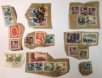1950's China PRC Stamp Lot - Used on Pieces - Nice Group/Collection