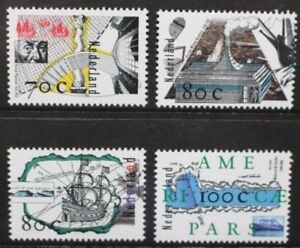 NETHERLANDS 1996 16th Century Voyages of Discovery. Set of 4. MNH. SG1814/1817.
