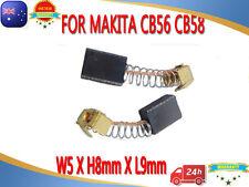 Carbon Brushes For Makita CB56 CB58 HP1030 HP1310 9035N 6801DB 9504B 5X8X9mm