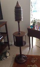 RARE & UNUSUAL ARTS & CRAFTS MAHOGANY & COPPER STANDARD LAMP