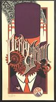 MINT Pearl Jam Chicago 2007 Klausen SIGNED PURPLE A/P Poster 52/100